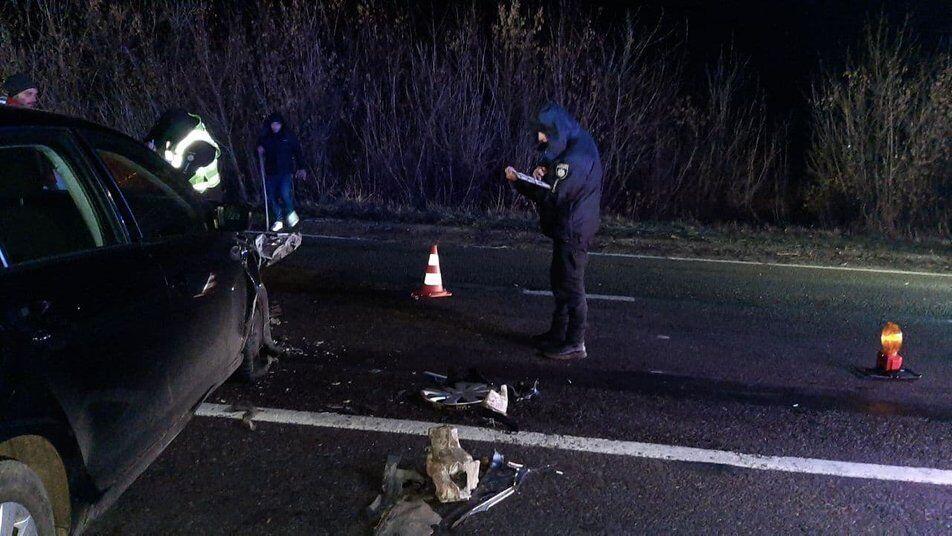 В ДТП повреждены всего пять автомобилей.