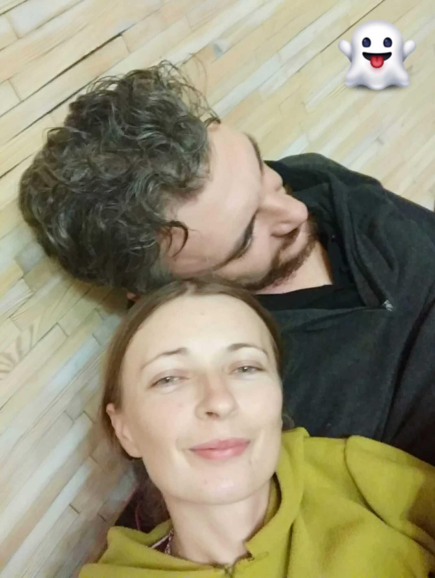 Сергей Бутко и Олеся Рой.