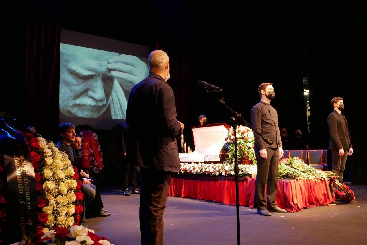Похороны Джигаханяна в Москве.