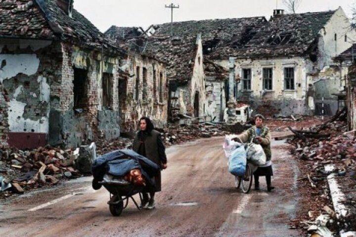 Разрушенный войной Вуковар
