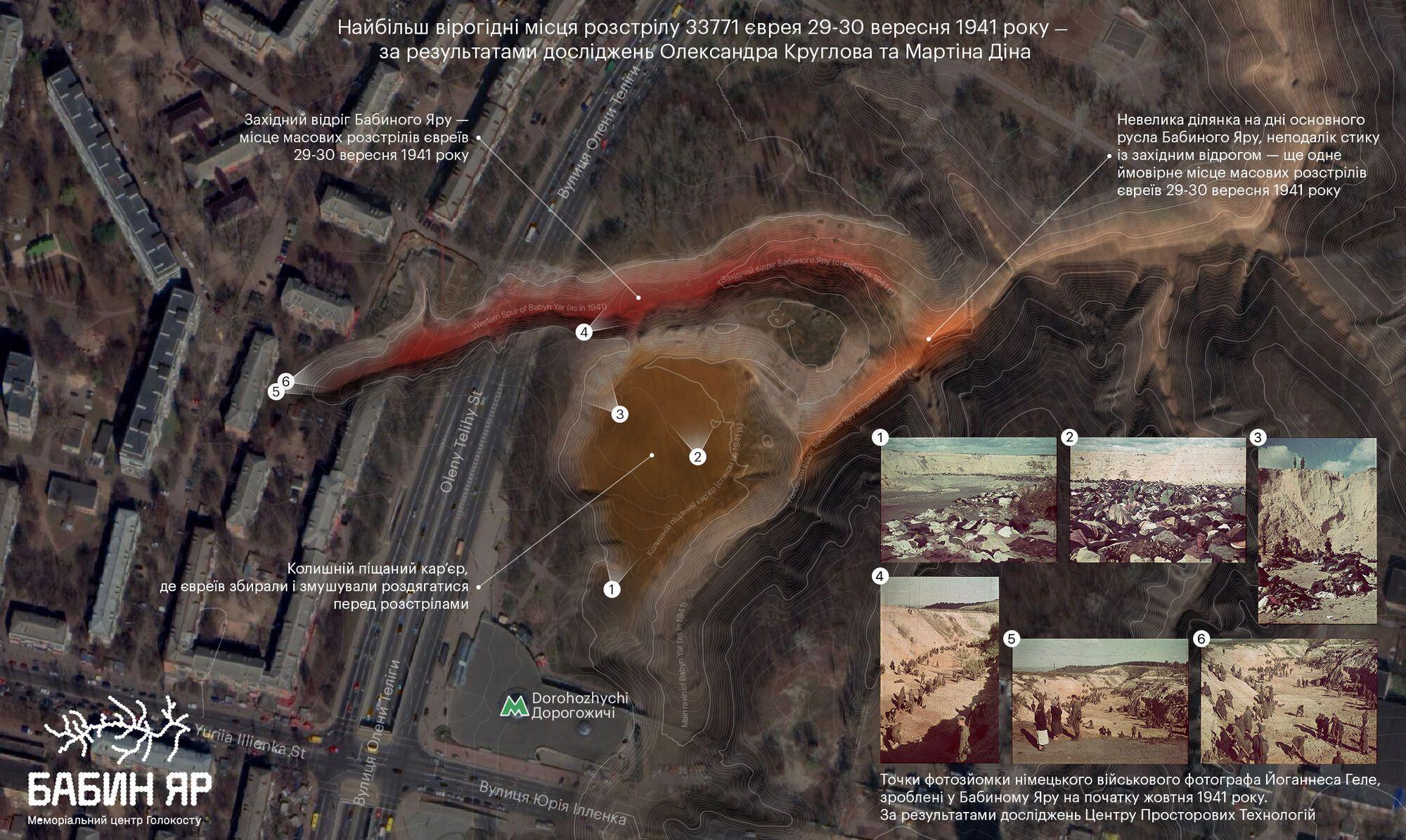 Карта дослідження Олександра Круглова, Мартіна Діна та Центру просторових технологій