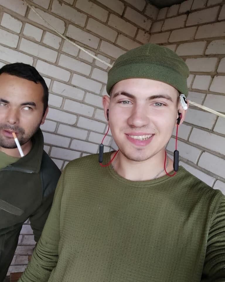 В зону проведения ООС подразделение, в котором служил Иван Горошко, отправился в октябре 2020 года
