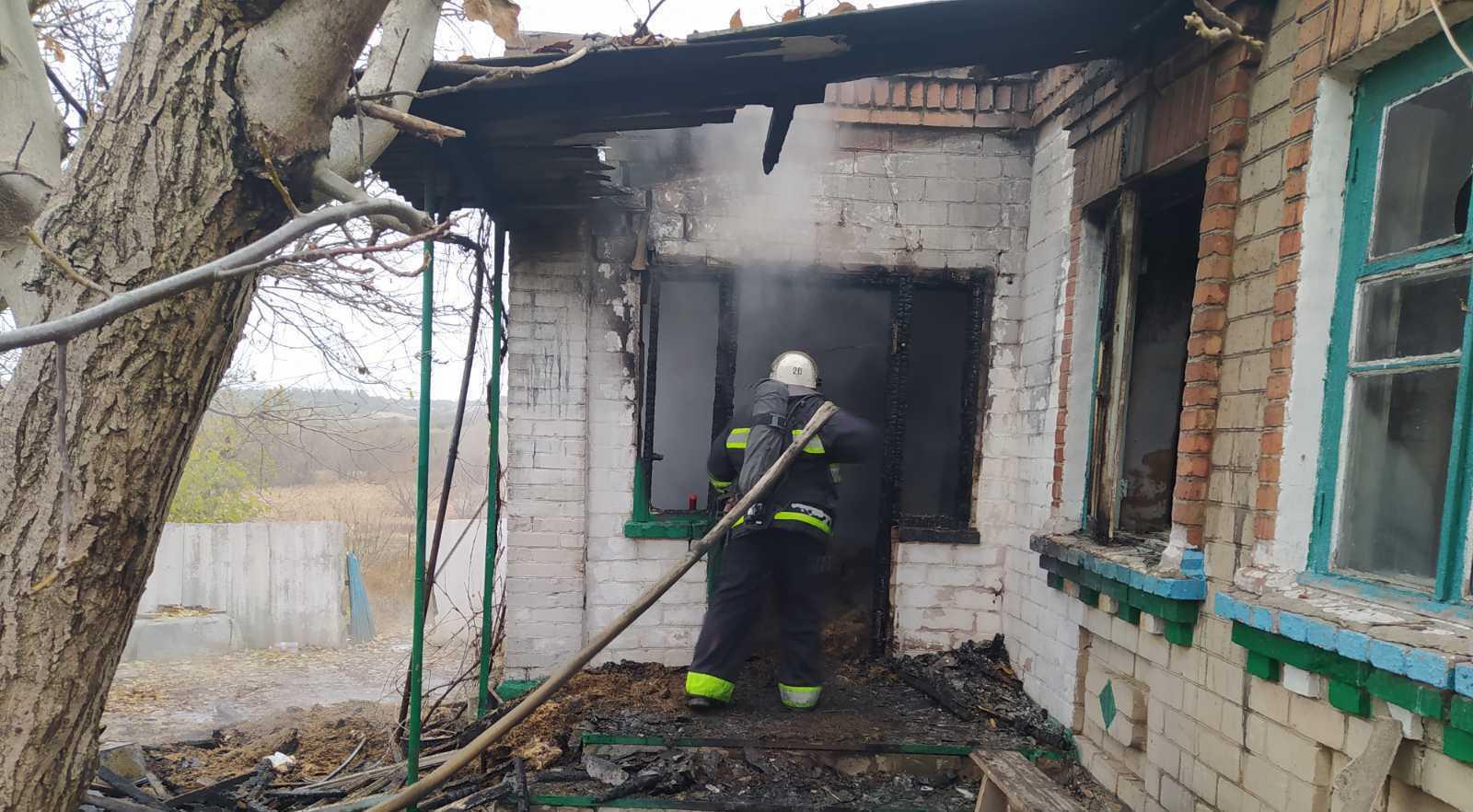 При пожаре погибли двое детей
