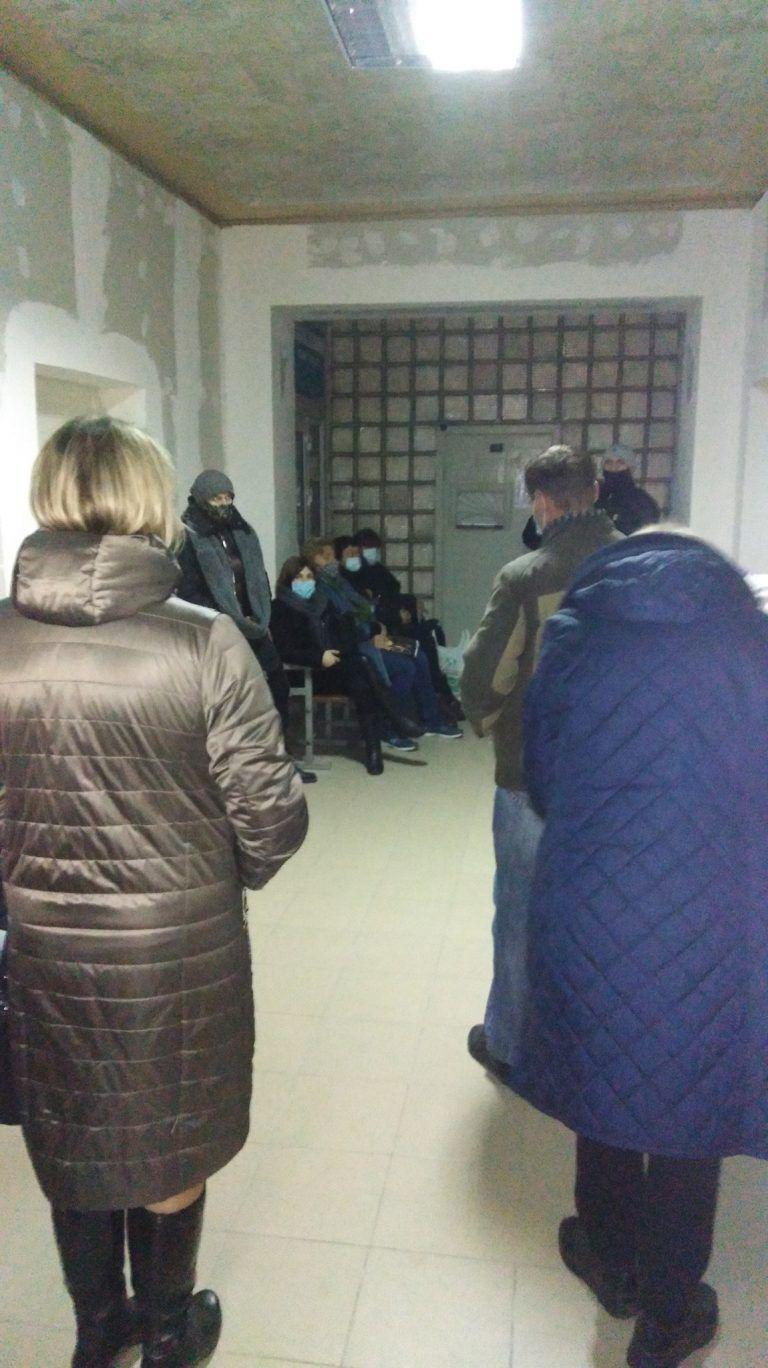 Черга в Центрі первинної медико-санітарної допомоги №5 у Запоріжжі