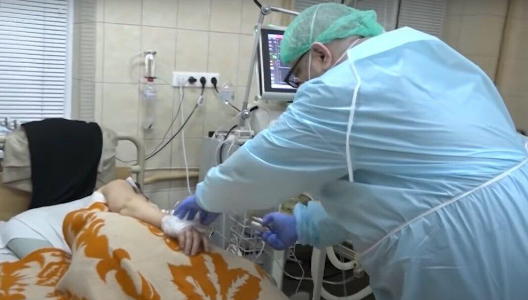 Реанимационное отделение больницы на Буковине переполнено.