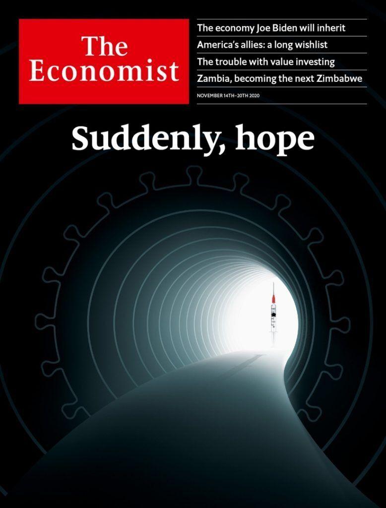 Обложка журнала The Economist.