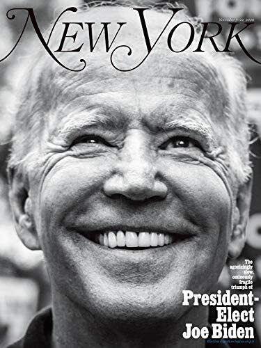 Обложка журнала New York.