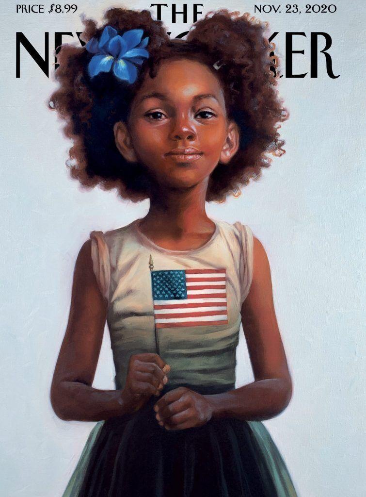 Обложка журнала New Yorker.