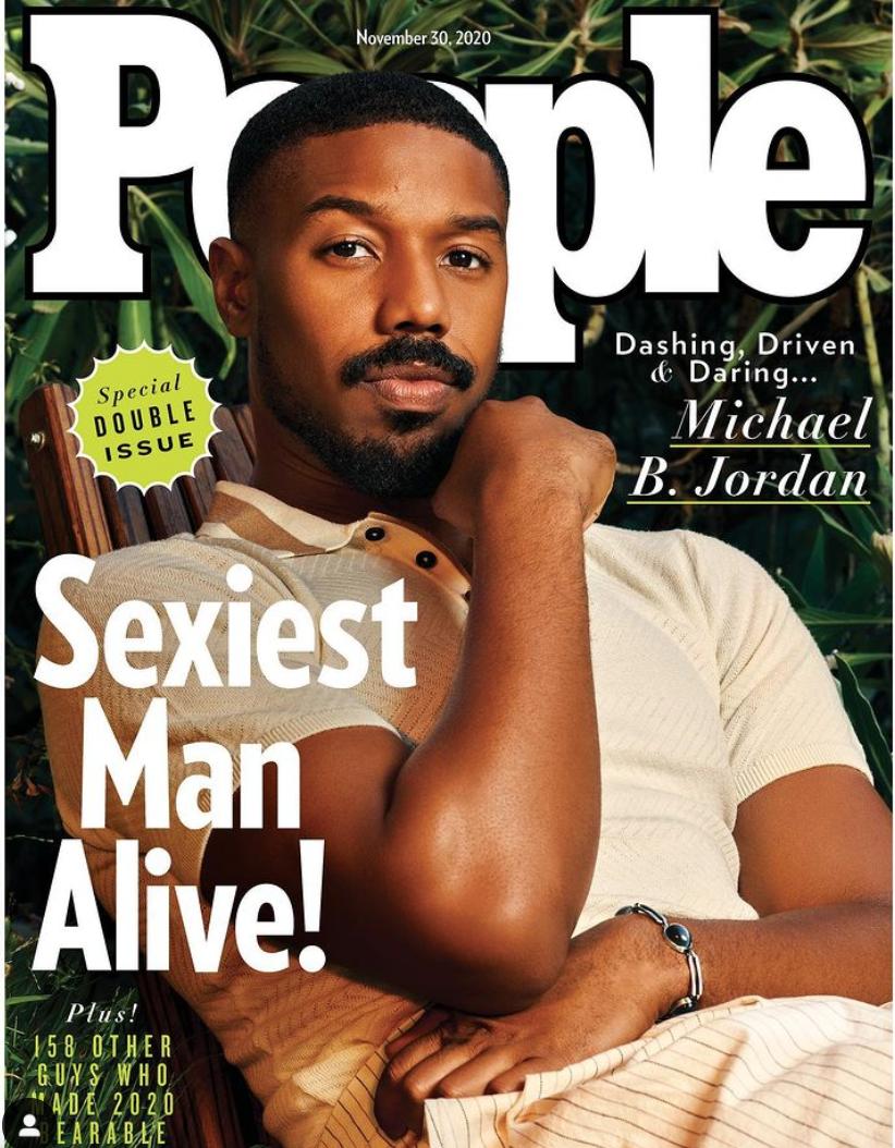 Майкл Б. Джордан стал самым сексуальным мужчиной