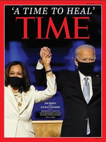 Обложка журнала Time.