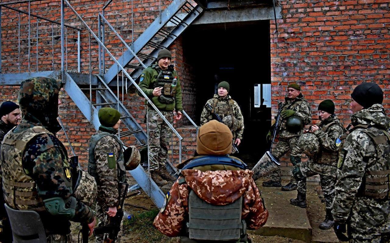 58-я бригада проводит боевую подготовку совместно с натовскими инструкторами