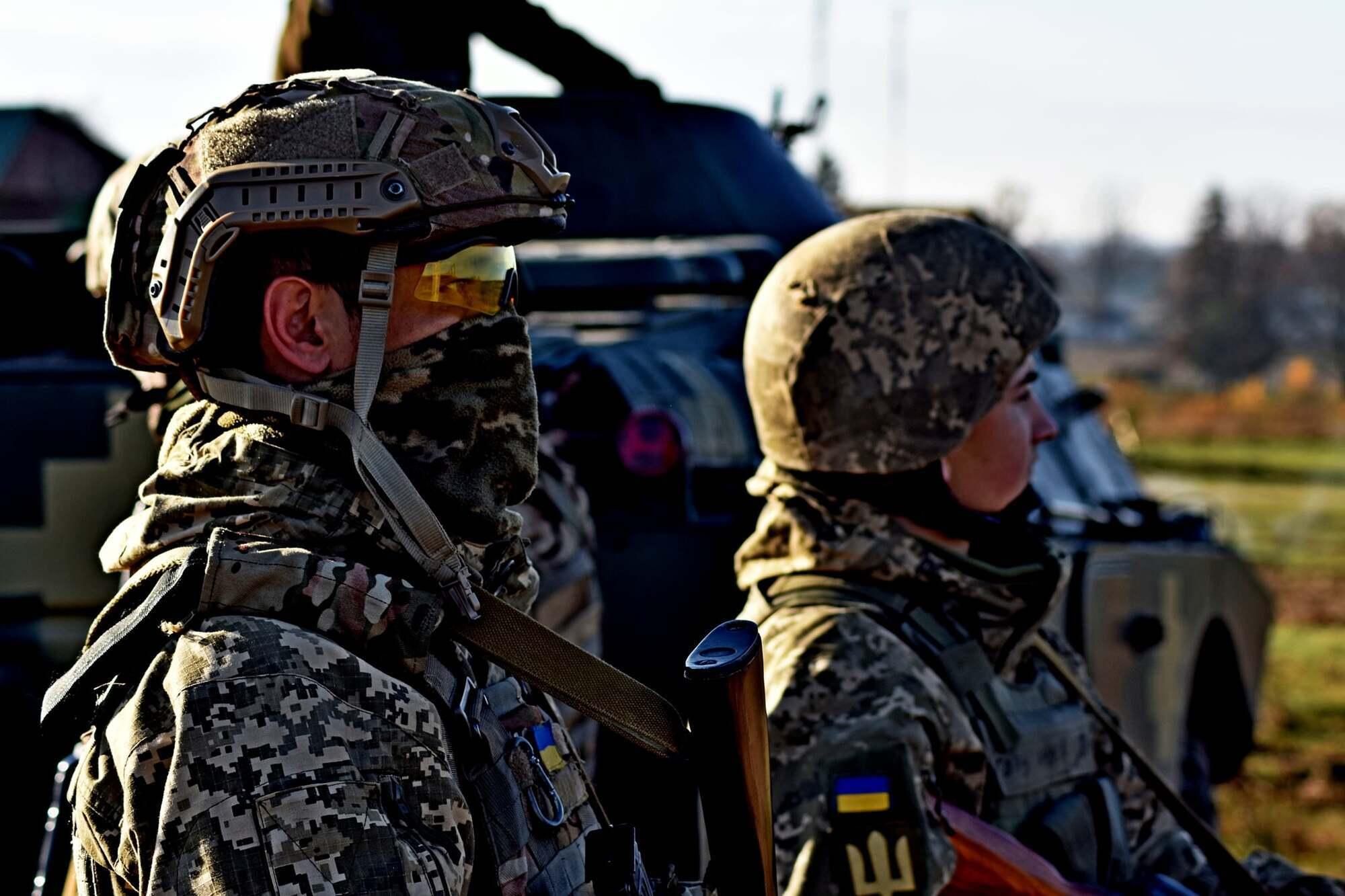 Бригада ВСУ проходит учения по стандартам НАТО