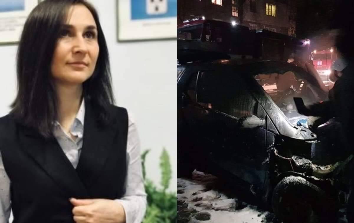 В Конотопе сожгли авто местной депутатки