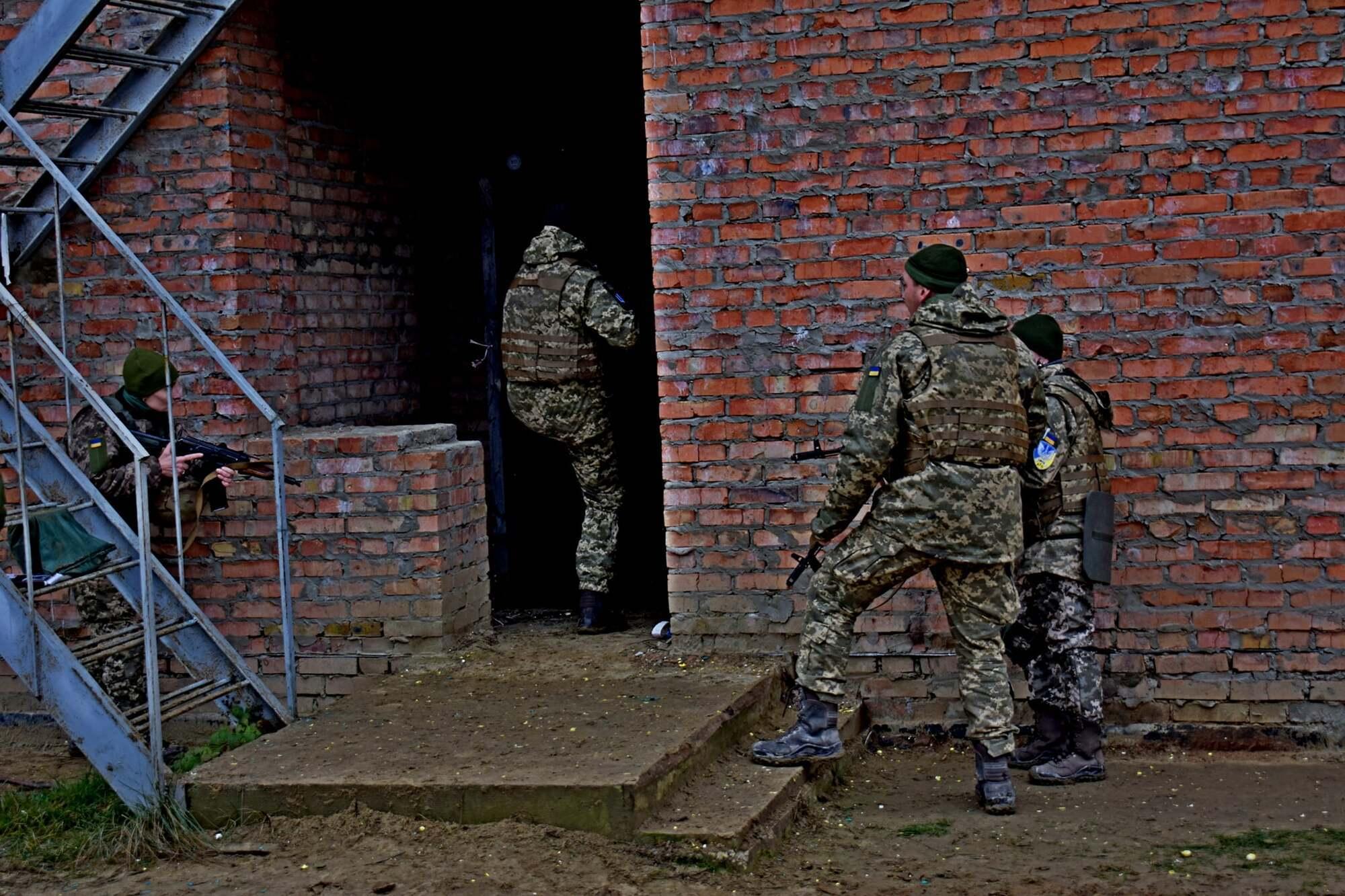 Обучения 58-й ОМБр по стандартам НАТО