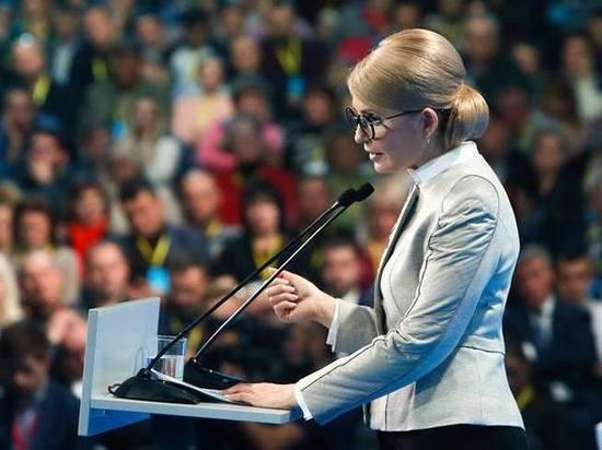 Юлія Тимошенко в платиновому блонді