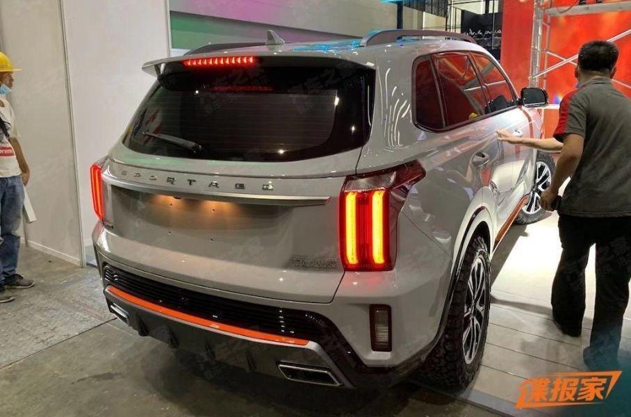 Китайская версия Kia Sportage нового поколения