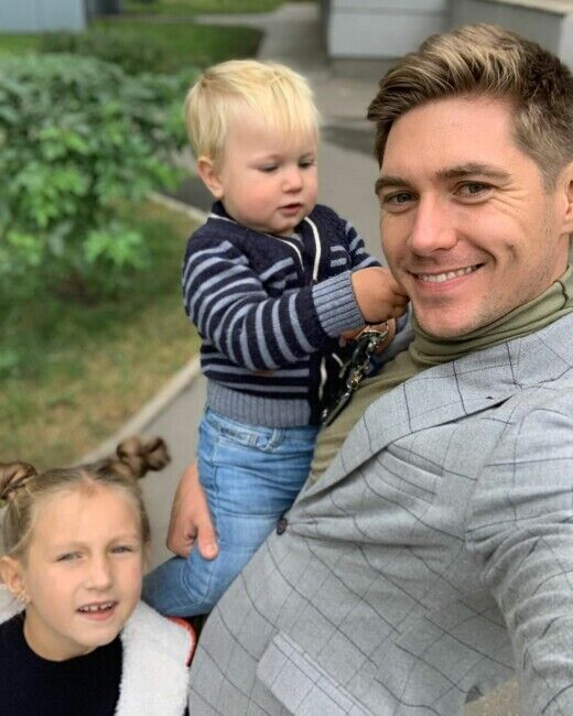 Владимир Остапчук с детьми