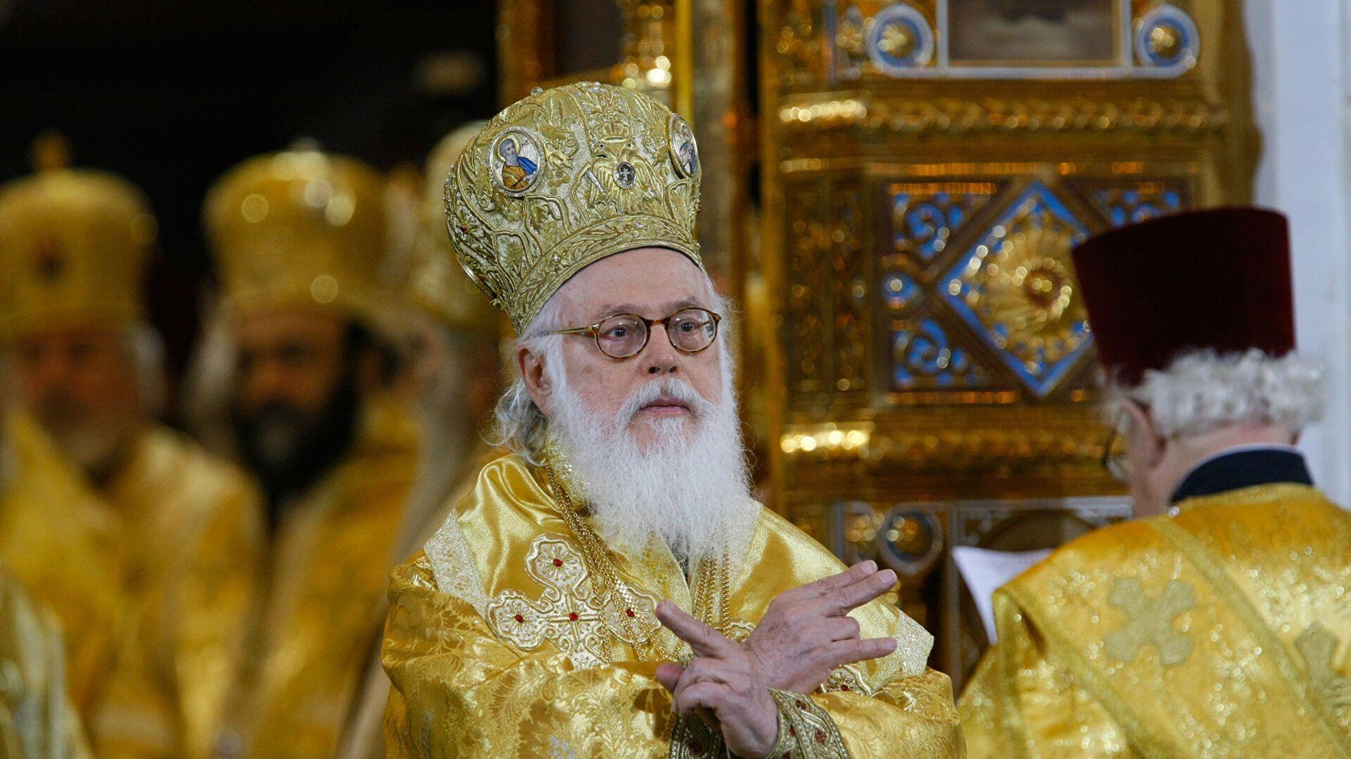Архиепископ Албанский Анастасий.