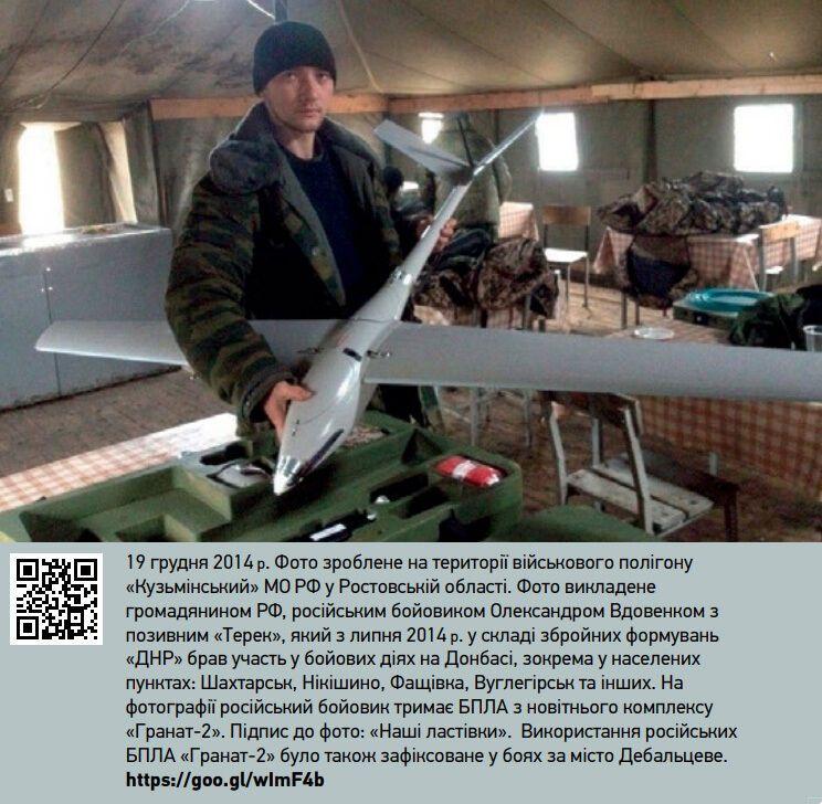 """БПЛА, которым комплектуется """"Наводчик-2""""."""