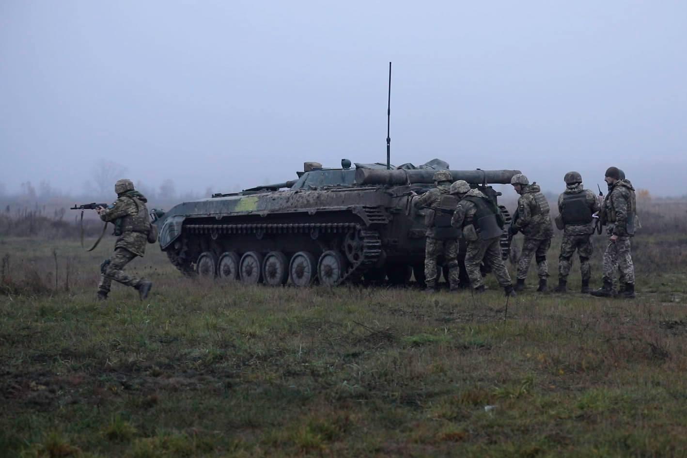 58-я бригада будет два месяца отрабатывать различные военные мероприятия под присмотром инструкторов Альянса