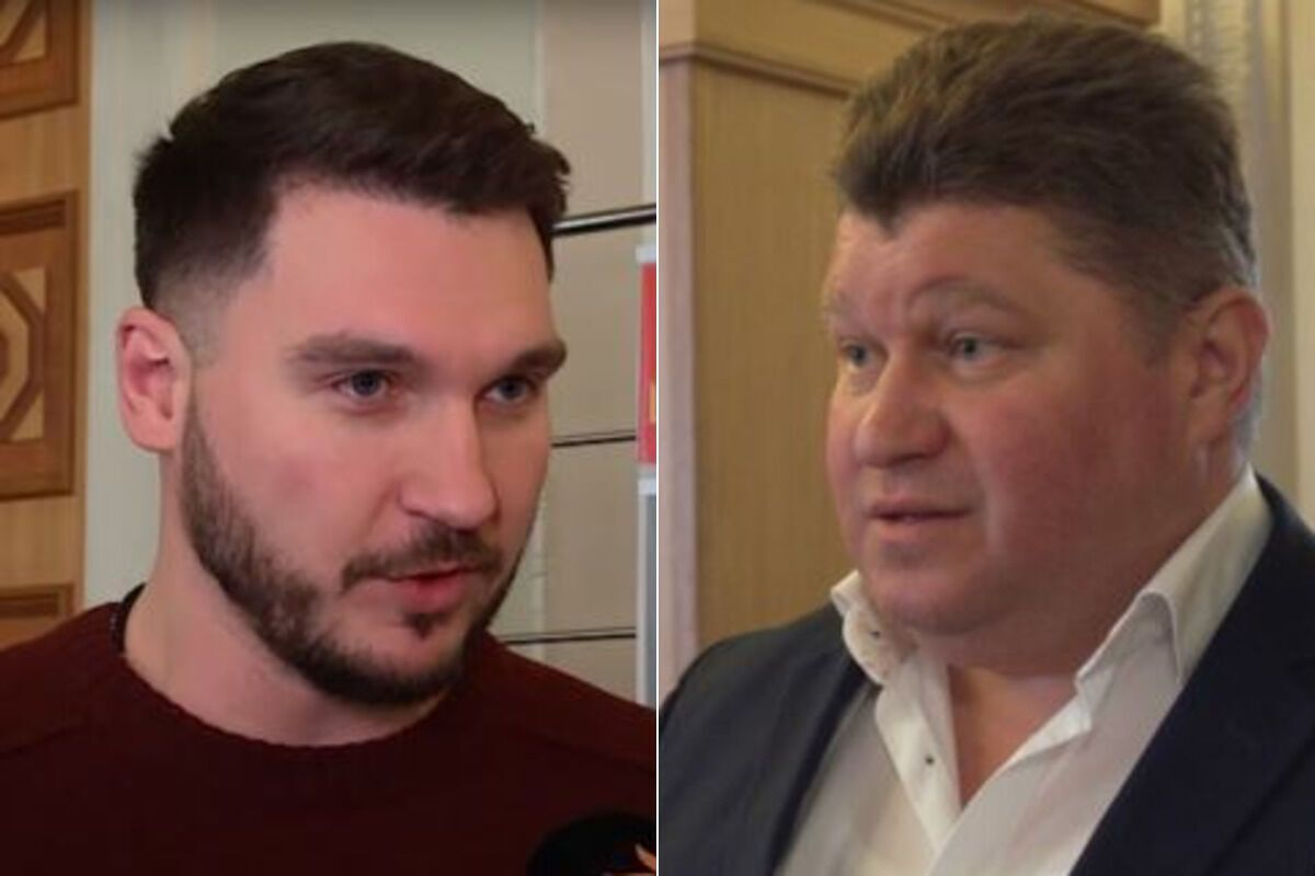 Павел Халимон и Олег Дмитренко