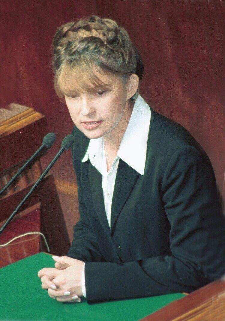 Перша коса Юлії Тимошенко