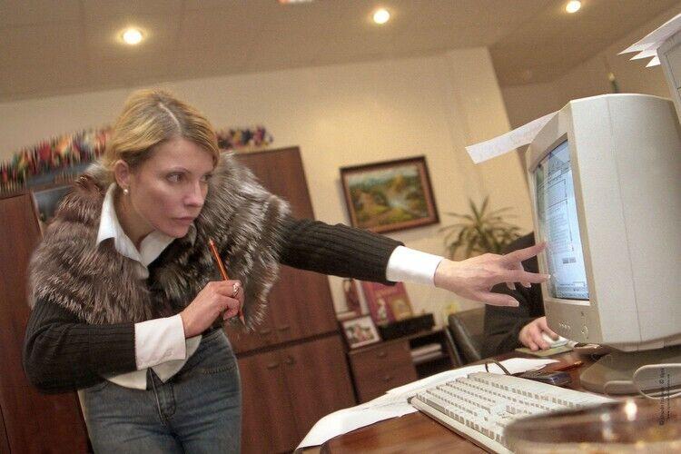 Юлія Тимошенко на посаді прем'єр-міністра