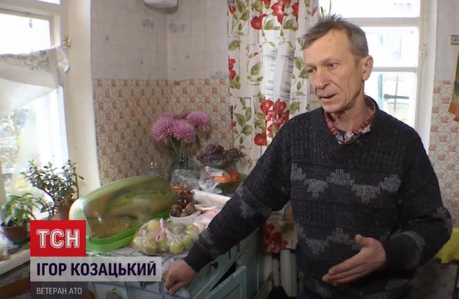 Ветеран АТО Игорь Козацкий