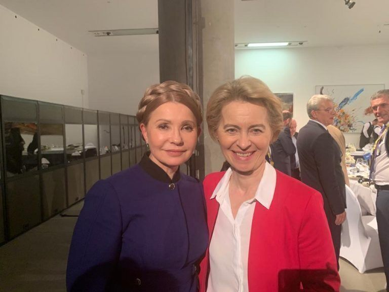Юлія Тимошенко знову з косою