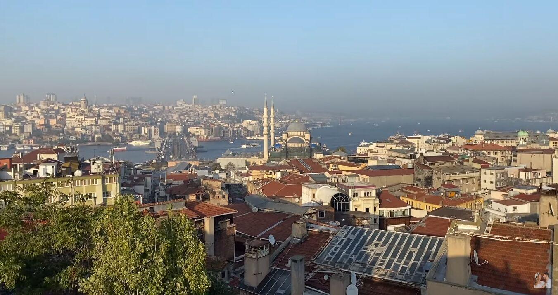 Смотровая площадка Buyuk Valide Han в Стамбуле