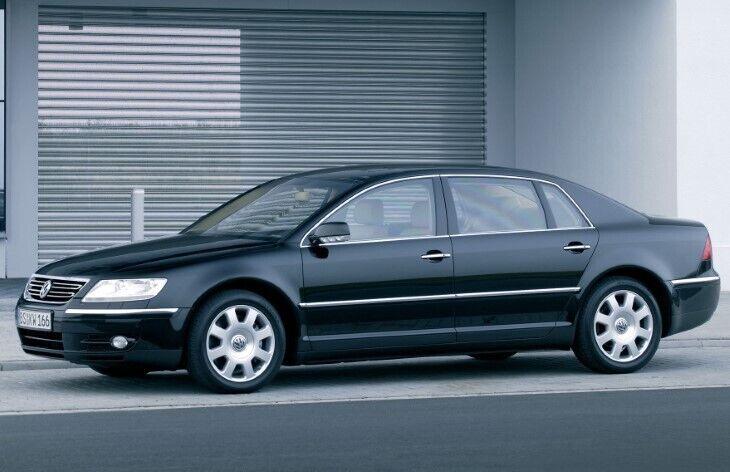 Volkswagen Phaeton – флагман компанії, який виявився сміливою розробкою