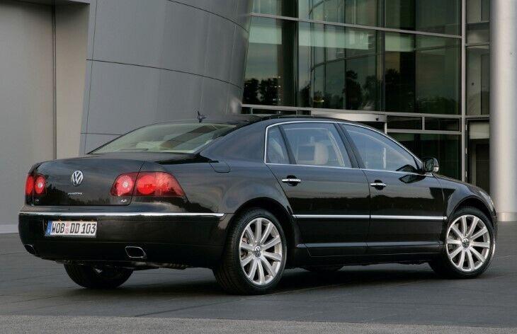 Дизайн Volkswagen Phaeton вийшов спокійним і нейтральним
