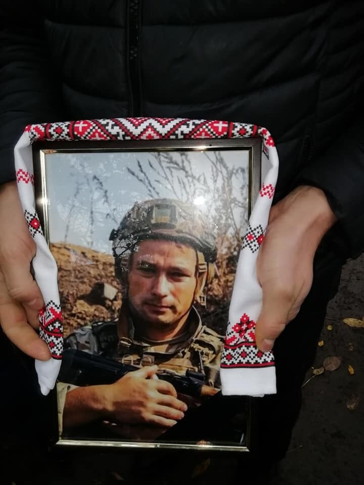 Похоронили воина 1 ноября в родном селе