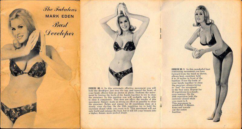 Реклама приладу Mark Eden для збільшення грудей
