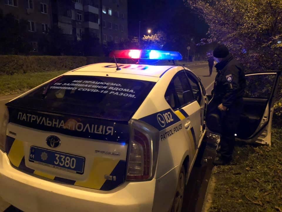 На місце НП в Івано-Франківську прибула поліція