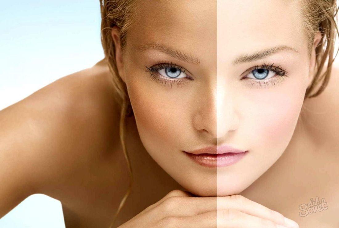 Відбілювання шкіри