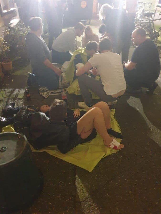 Несколько человек получили ранения в результате теракта в Вене.