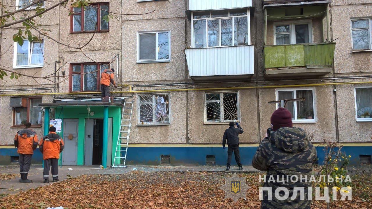 Будинок, де підірвали гранату