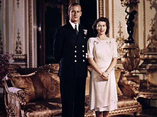 Молоді Єлизавета II і Філіп.