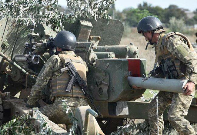 Воїни-протитанкісти демонстрували практичні навички