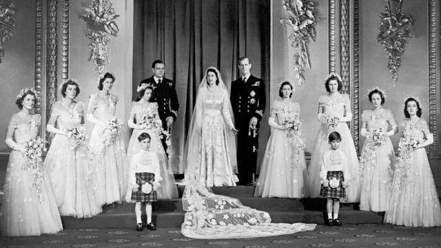 Весілля Єлизавети і Філіпа.