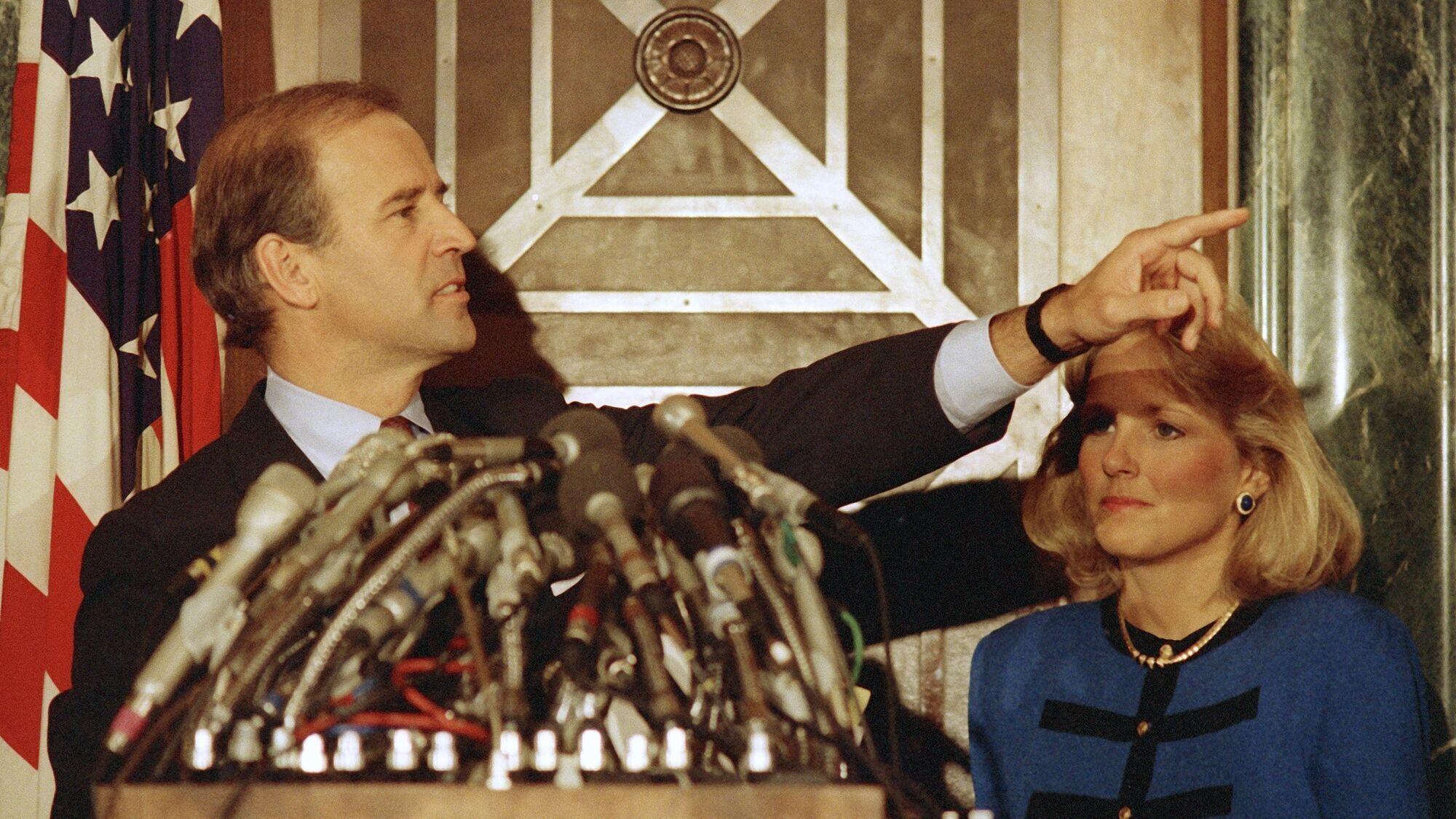 Джо Байден на пресконференції 23 вересня 1987 року заявив про зняття своєї кандидатури на виборах президента