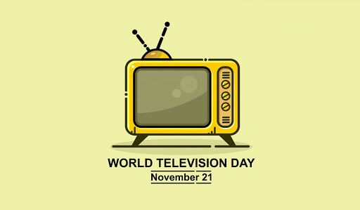 Открытка в День телевидения