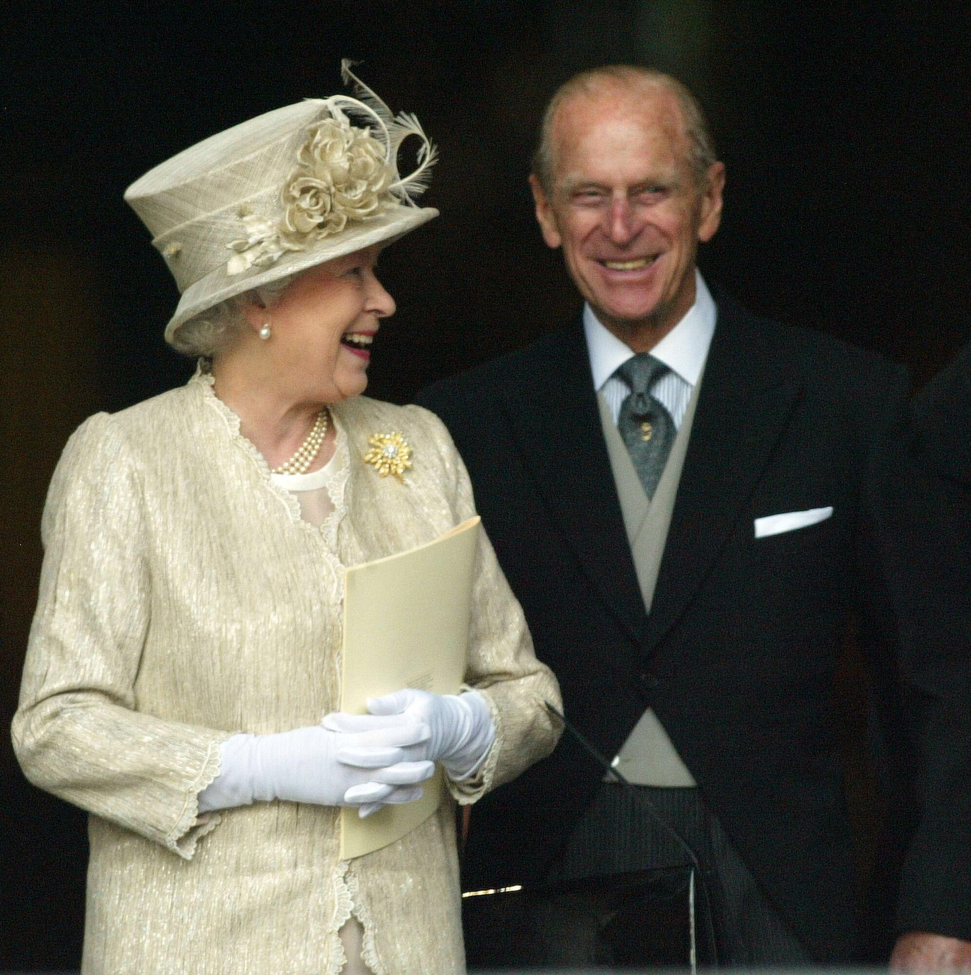 Єлизавета II і Філіп.