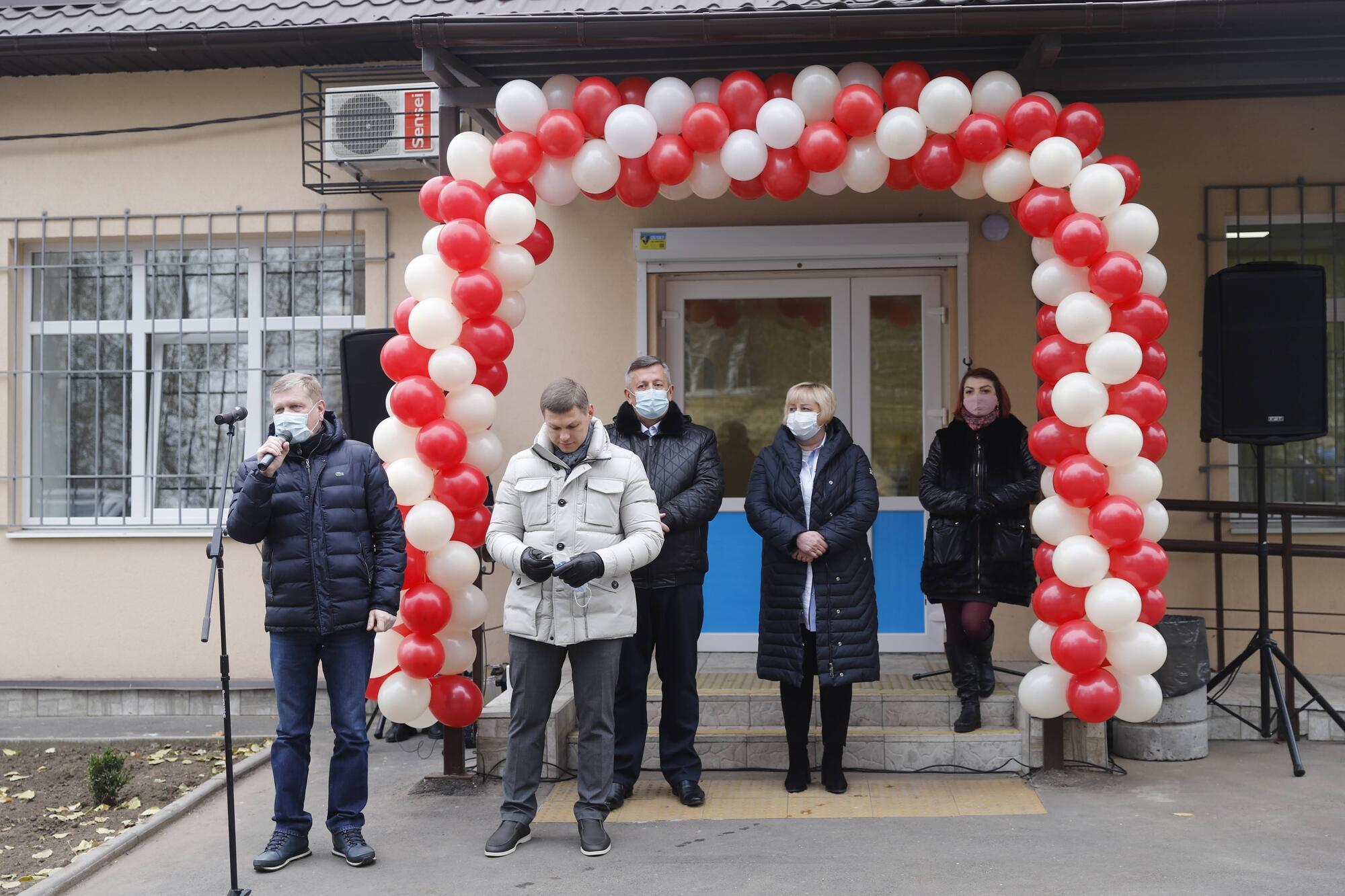 В микрорайоне Шляхивка, после капитального ремонта открыли амбулаторию №6