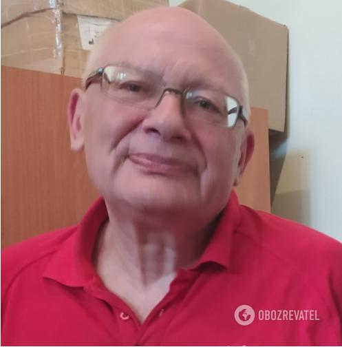 Ігор Орлов на швидкій пропрацював 40 років
