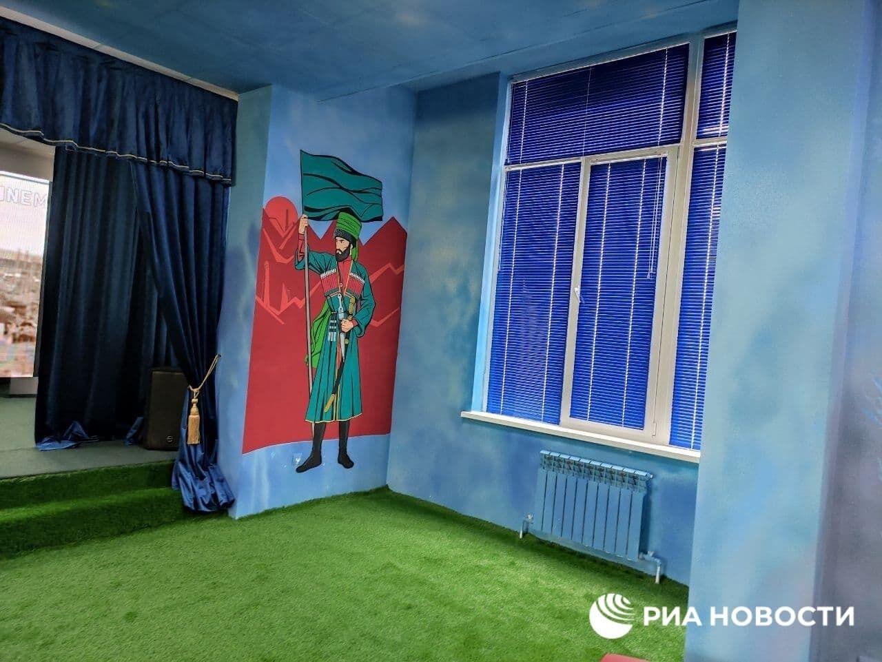 Чеченские герои заменили изображения Marvel в детском развлекательном центре