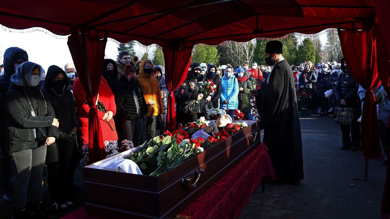 Бондаренко похоронили на Северном кладбище в пригороде Минска