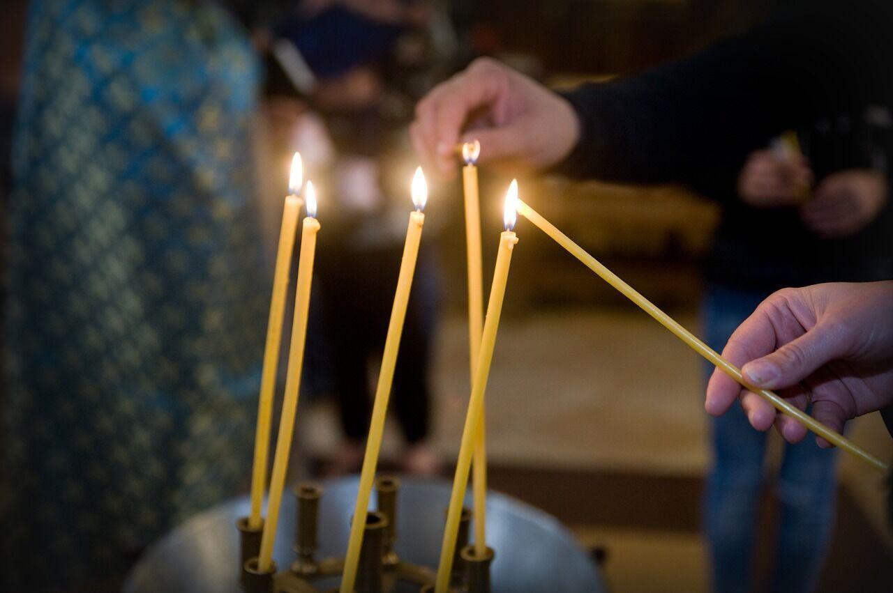 В Михайлов день верующие посещают церковь, чтобы помолиться о здравии родных и близких