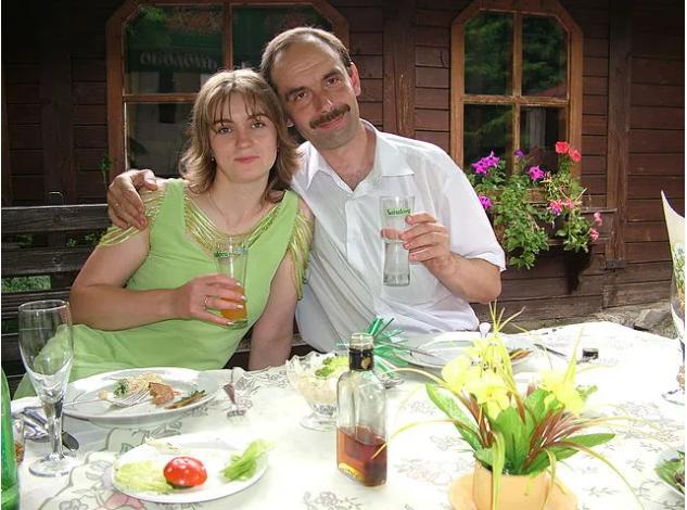 Іван Венжіновіч із дружиною Зоряною.